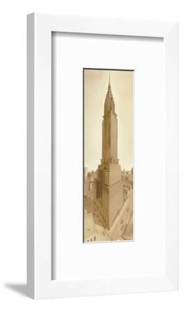 Bustling Metropolis-Seth Garrett-Framed Art Print