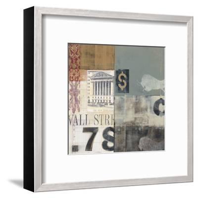 Bull Shares-Alec Parker-Framed Art Print