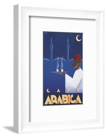 Cafe Arabica-Steve Forney-Framed Art Print