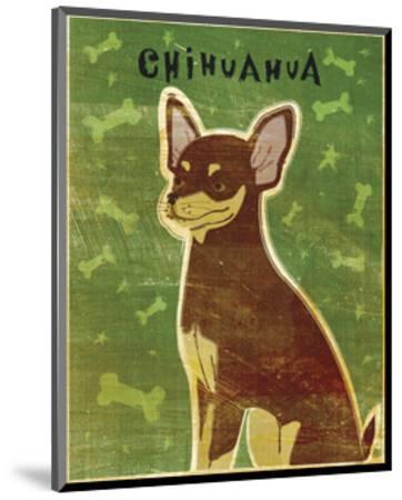 Chihuahua (chocolate and tan)-John W^ Golden-Mounted Art Print