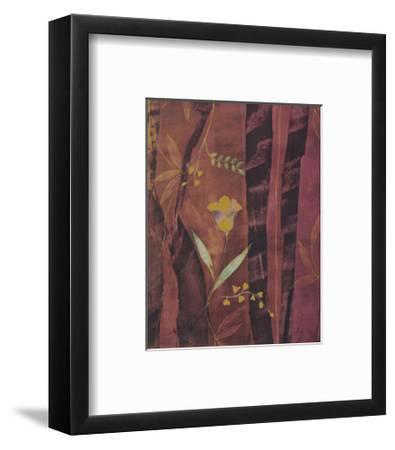 Chenille Tulips-Muriel Verger-Framed Art Print