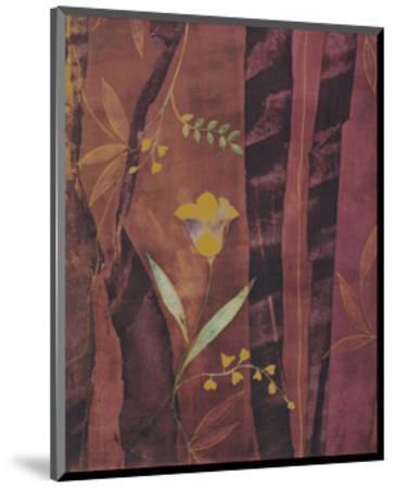 Chenille Tulips-Muriel Verger-Mounted Art Print