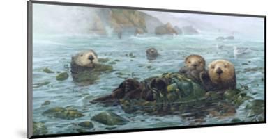 Carmel Coast Otters-John Dawson-Mounted Art Print
