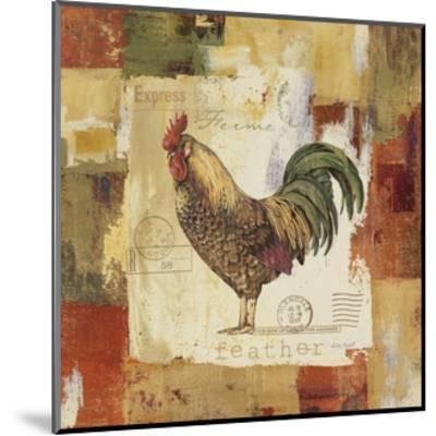 Colorful Rooster II-Lisa Audit-Mounted Art Print