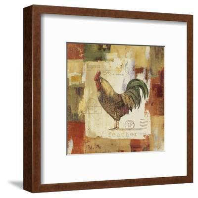 Colorful Rooster II-Lisa Audit-Framed Art Print