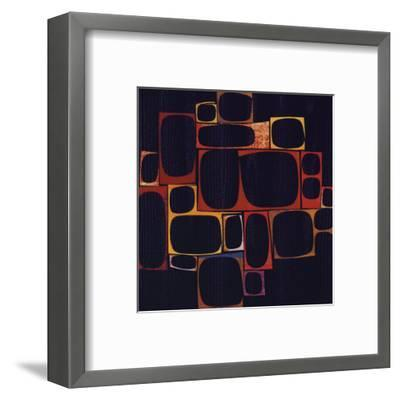 Cluster-Rex Ray-Framed Art Print