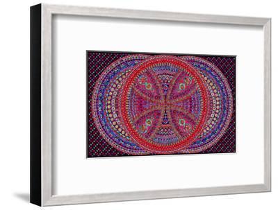Circular Heat-Lawrence Chvotzkin-Framed Art Print