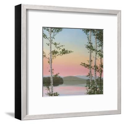 Cooper Sunset Birches-Elissa Gore-Framed Art Print