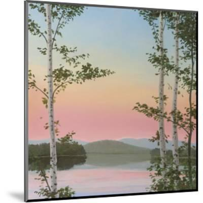 Cooper Sunset Birches-Elissa Gore-Mounted Art Print