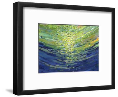 Coral Waves II-Margaret Juul-Framed Art Print
