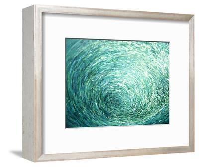 Cresting Left-Margaret Juul-Framed Art Print