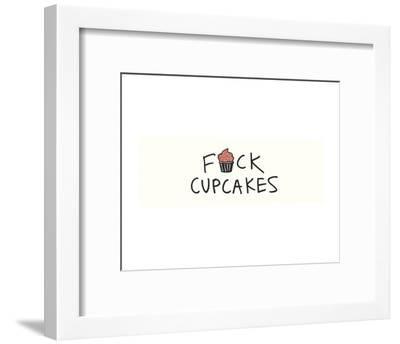 Cupcakes-Urban Cricket-Framed Art Print