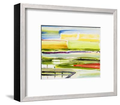 Deck View-Joan Davis-Framed Art Print