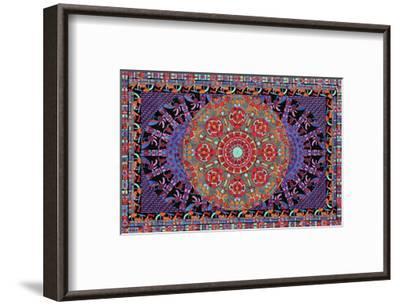 Dancing Central-Lawrence Chvotzkin-Framed Art Print