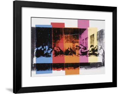 Detail of The Last Supper, 1986-Andy Warhol-Framed Art Print