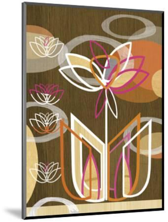 Dahlia Motif-Linda Ketelhut-Mounted Art Print