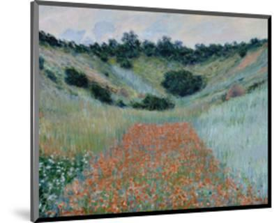 Poppy Field in a Hollow Near Giverny, 1885-Claude Monet-Mounted Art Print