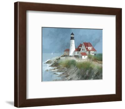 Portland Light, Maine-Albert Swayhoover-Framed Art Print