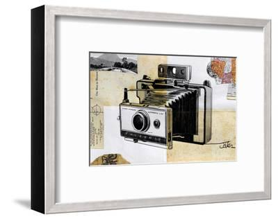 Polaroid Land Camera-Loui Jover-Framed Art Print