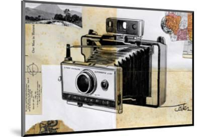 Polaroid Land Camera-Loui Jover-Mounted Art Print