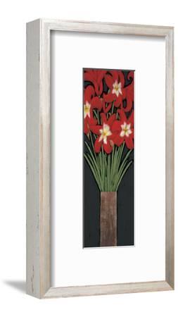 Red Hot Lilies-Rachel Rafferty-Framed Art Print