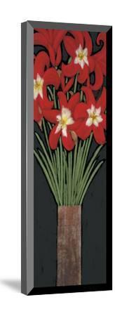 Red Hot Lilies-Rachel Rafferty-Mounted Art Print