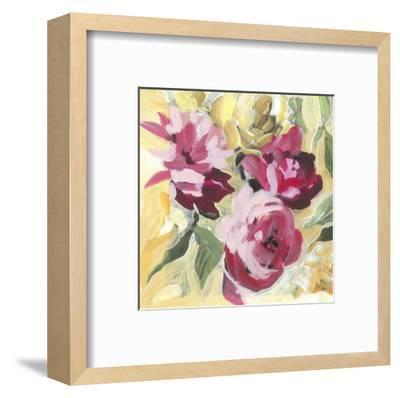 Raspberry Roses-Stacey Wolf-Framed Art Print