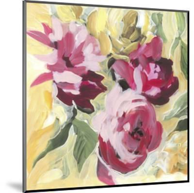 Raspberry Roses-Stacey Wolf-Mounted Art Print