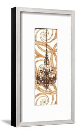Rococo Sparkle (crop)-Erin Clark-Framed Art Print