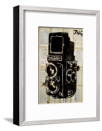 Rolleiplex Camera-Loui Jover-Framed Art Print
