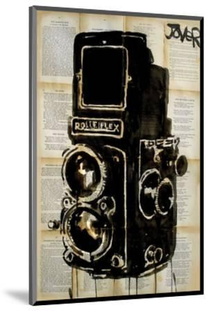 Rolleiplex Camera-Loui Jover-Mounted Art Print