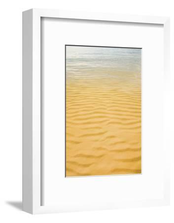 Ripples in the Sand-Michael Hudson-Framed Art Print