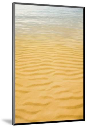Ripples in the Sand-Michael Hudson-Mounted Art Print