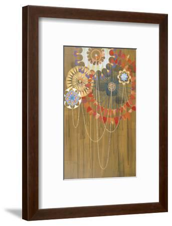 Rosathoria I-Rex Ray-Framed Art Print