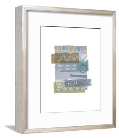 Sea & Sky I-P^G^ Gravele-Framed Art Print
