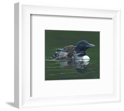 Safe and Serene-Terry Isaac-Framed Art Print
