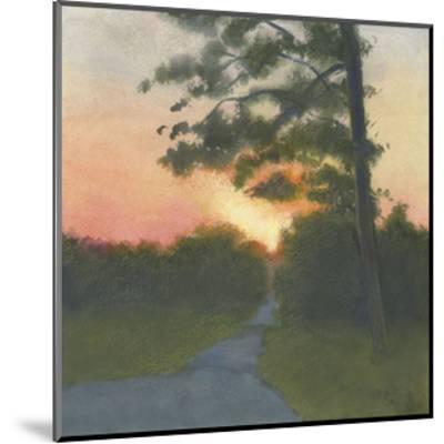Sand Hill Sunset II-Elissa Gore-Mounted Art Print