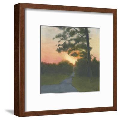 Sand Hill Sunset II-Elissa Gore-Framed Art Print