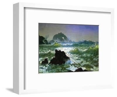 Seal Rock-Albert Bierstadt-Framed Art Print