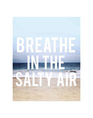 Salty Air-Leah Flores-Framed Art Print