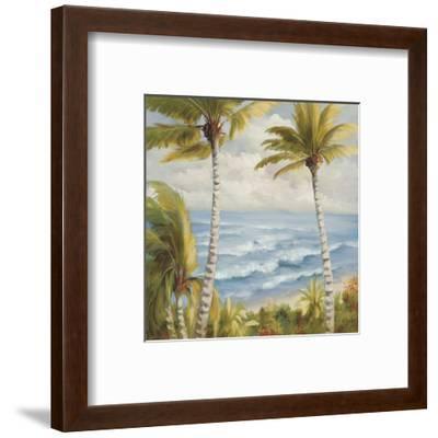 Seaside Escape-Marc Lucien-Framed Art Print