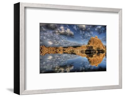 Sky vs. Sky-Bob Larson-Framed Art Print