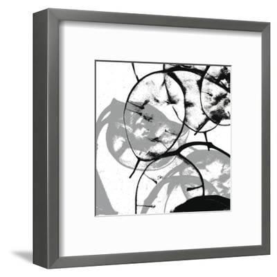 Silver Dollars V-Erin Clark-Framed Art Print