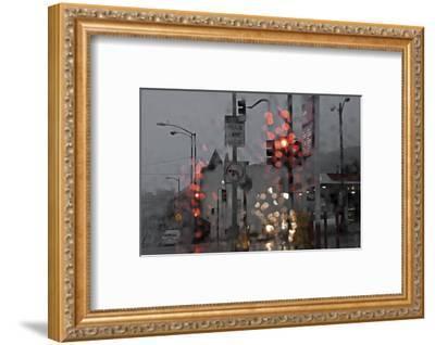 SF Early and Wet-David Lorenz Winston-Framed Art Print