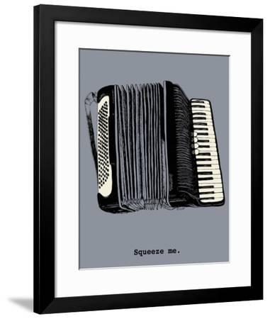 Squeeze Me-Urban Cricket-Framed Art Print