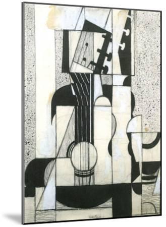 Still Life with Guitar-Juan Gris-Mounted Art Print