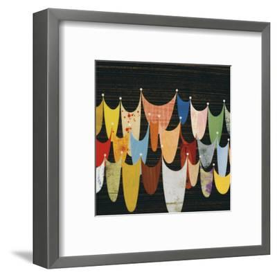 Swoop-Rex Ray-Framed Art Print
