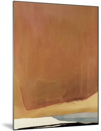 Sunset Corner, 1969-Helen Frankenthaler-Mounted Art Print