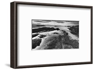 The Edge of the Earth-Eric Wood-Framed Art Print