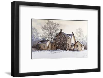 The Farmer's Daughter-Ray Hendershot-Framed Art Print